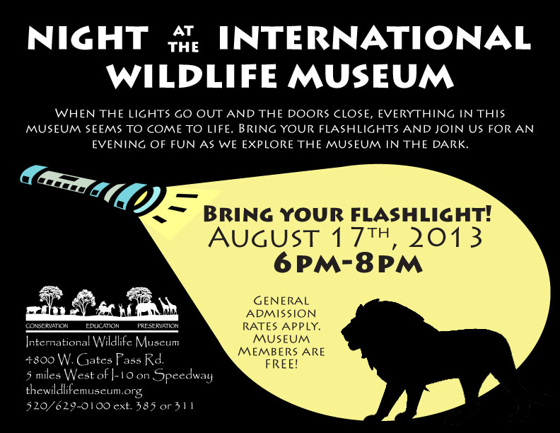 Night at Museum 2013 August